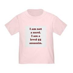 Not Nerd Assassin Toddler T-Shirt