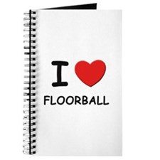 I love floorball Journal