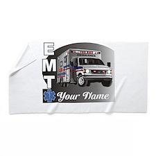 Custom Personalized EMT Beach Towel