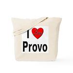 I Love Provo Tote Bag