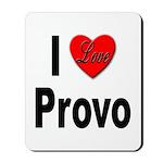 I Love Provo Mousepad