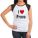 I Love Provo (Front) Women's Cap Sleeve T-Shirt