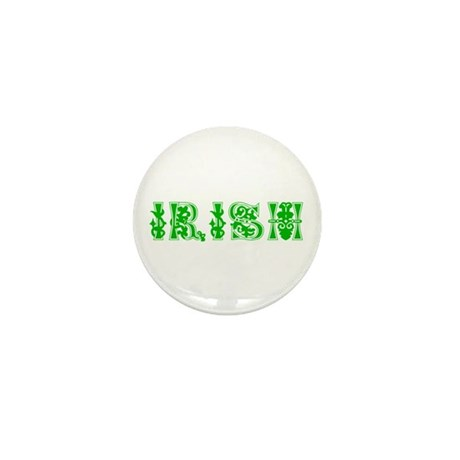 Irish Mini Button (10 pack)