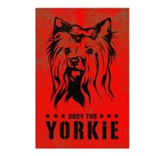 Obey the YORKIE! Postcards (Package of 8)