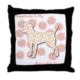 Patterdale Happiness Throw Pillow