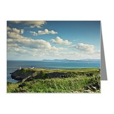 baily lighthouse on howth he Note Cards (Pk of 10)