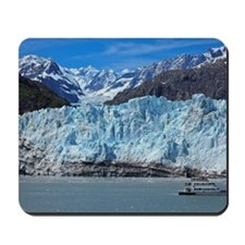 Tour boart at Margerie Glacier in Glacie Mousepad