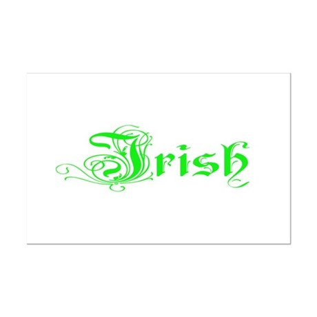 Irish Mini Poster Print