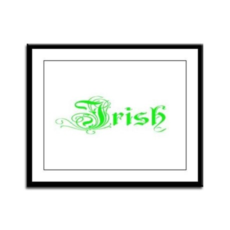 Irish Framed Panel Print