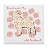 Lapphund Happiness Tile Coaster