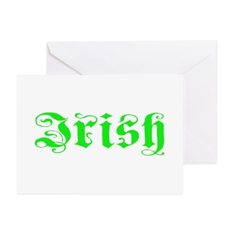 Irish Greeting Cards (Pk of 10)