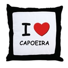 I love capoeira  Throw Pillow