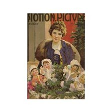 Mary Pickford Christmas cover Rectangle Magnet