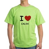 I love calva T-Shirt