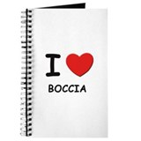 I love boccia Journal