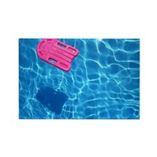Swimming pool Rectangle Magnet