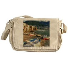 Cefalu beach Messenger Bag