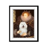 Queen's Bolognese Framed Panel Print