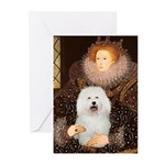 Queen's Bolognese Greeting Cards (Pk of 10)