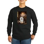 Queen's Bolognese Long Sleeve Dark T-Shirt