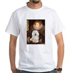Queen's Bolognese White T-Shirt