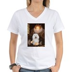 Queen's Bolognese Women's V-Neck T-Shirt