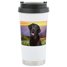 Labrador Meadow (licens Travel Mug