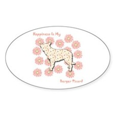 Berger Happiness Oval Decal