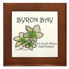 Cute Byron Framed Tile