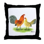 Blue Ginger Old English Throw Pillow