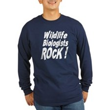 Wildlife Biologists Rock ! T