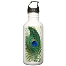 Green Apple Peacock Fe Water Bottle