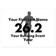 Customizable Running/Marathon Invitations