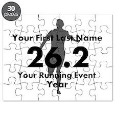 Customizable Running/Marathon Puzzle