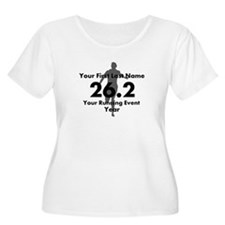 Customizable Running/Marathon Plus Size T-Shirt