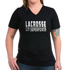 Lacrosse Is My Superpower Shirt