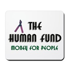 Human Fund Mousepad Seinfeld Costanza
