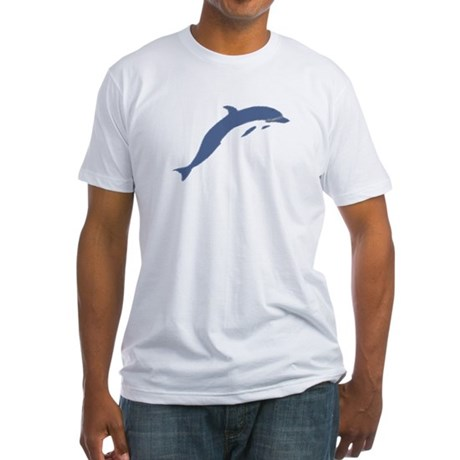 Blue Dolphin Fitted T-Shirt
