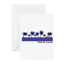 Port St. Lucie, Florida Greeting Cards (Package of