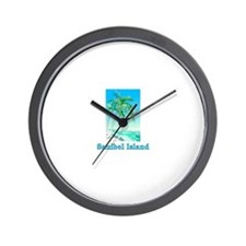 Sanibel Island, Florida Wall Clock