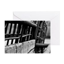Corral Fence - Greeting Card