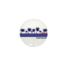Sarasota, Florida Mini Button (10 pack)