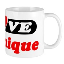 I Love Dominique Mug