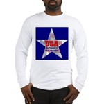 USA Safeguard Our Shores Long Sleeve T-Shirt