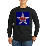 USA Safeguard Our Shores Long Sleeve Dark T-Shirt