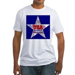 USA Safeguard Our Shores Fitted T-Shirt