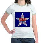 USA Safeguard Our Shores Jr. Ringer T-Shirt