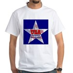 USA Safeguard Our Shores White T-Shirt