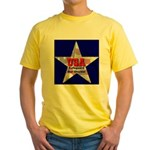 USA Safeguard Our Shores Yellow T-Shirt