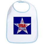 USA Safeguard Our Shores Bib